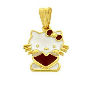 Pandantiv-Hello-Kitty-placat-cu-aur-decorat-cu-email--poza-t-P-n-pandantiv-placat-cu-aur-email