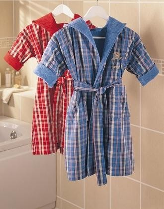 halat-baie-copii-tac-carouri-albastru-5-7-ani