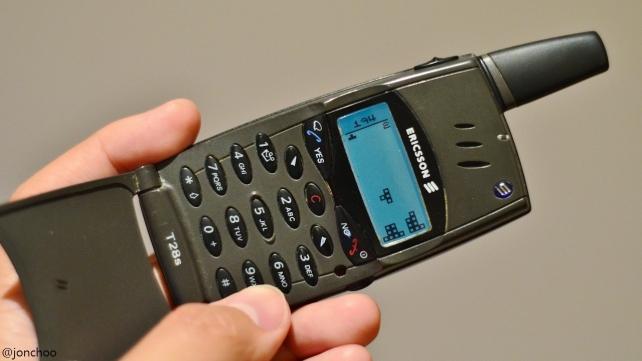 Ericsson T28s GSM Tetris Retro Phone