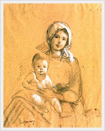 nicolae-grigorescu-mama-si-copil