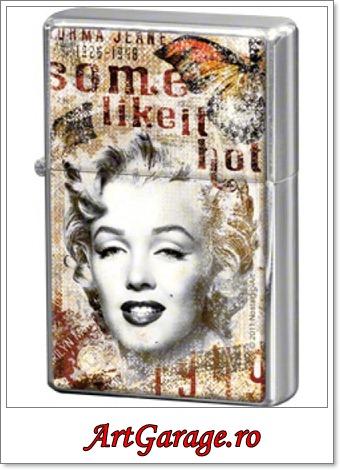 Marilyn Monroe bricheta metalica-400x500