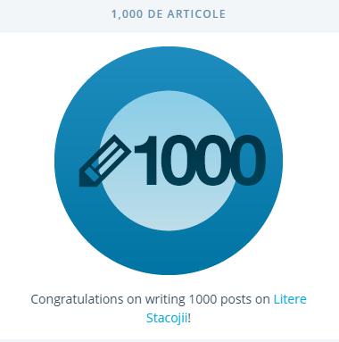 1000 de articole