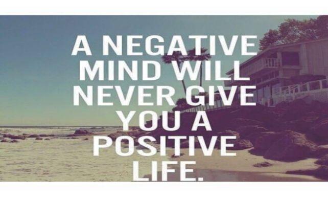 minte negativa